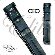 Elite  2X4 Oval Leather Hard Pool Cue Case - ECL24