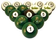 South Florida Bulls Billiard Ball Set