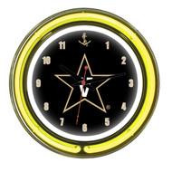 "Vanderbilt Commodores  14"" Clock"