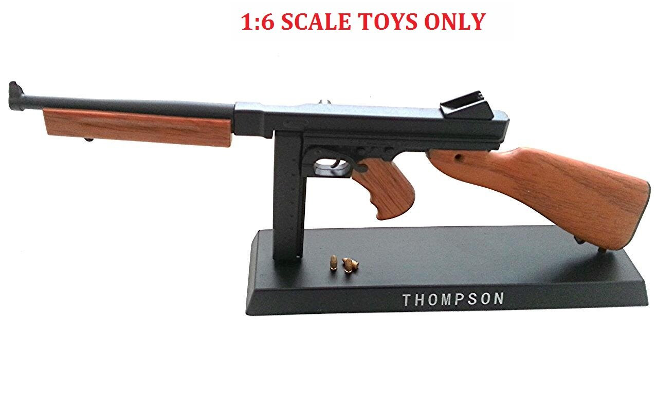 For Display Only AF-MC0014 Toy Figure 1:6 Scale Metal Model AK74 Rifle