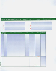Laser Parts Invoice