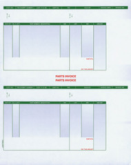 Laser Parts Invoices Double Stack