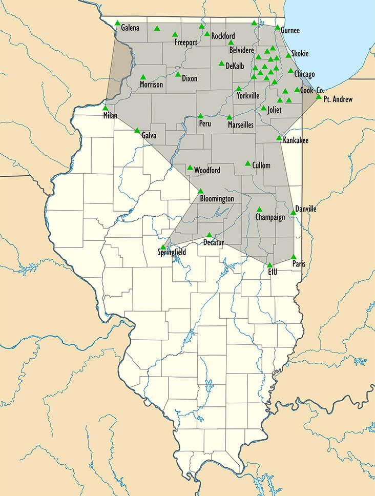 ReIL-NET - Illinois' Premier CORS RTK Network
