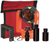 SECO 25mm Mini Prism System with Center Vial - Flo Orange