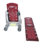 Spectra Red Pipe Laser Target Kit w/ Small & Large Targets & Holder (956)