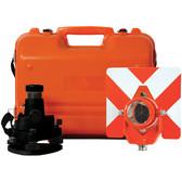 Seco Traverse/ Backsight Kit W/ Single Prism 0/-30/-40 Offset (2159-01-BLK)