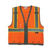 SITEPRO CLASS 2 ORANGE SAFETY VEST (23-700-FO)