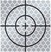 Reflective Sticky Targets 40x40 MM-20 pack (Generic)