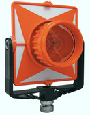 SitePro Single Tilting Prism - Polycarbonite Orange