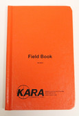"Bogside/ Field Book Orange Casebound 8X4 (""Kara Field Book""/ B-320)"