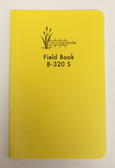 "Bogside Field Book 8X4"" B-320S Saddle Stitched - Yellow"