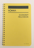 "Sokkia Economy Field Book - Wire Bound 8X4"" - Yellow"