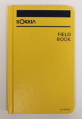 "Sokkia Field Book - Case Bound 8X4"" - Yellow"