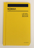 "Sokkia Level Book - Case Bound 4x7"" - Yellow"