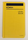 """Sokkia Level Book - Case Bound 4x7"""" - Yellow"""