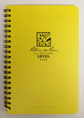 "Rite in the Rain - All-Weather Level Spiral Bound - No. 313 - 5x7"" Yellow"