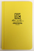 "Rite in the Rain - All-Weather Field Book - Case Bound - No. 350F - 5x8"" Yellow"