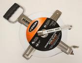 Keson 300' Double Nylon Coated Steel Blade Measuring Tape - Hook End