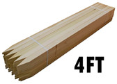 "48"" Premium Hardwood Lath - Bundle of 50"