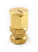 Kara Adjustable Brass Hexagonal Monument / Target Holder