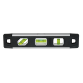 "Johnson 9"" Magnetic Aluminum Reinforced Torpedo Level - 3 Vial"