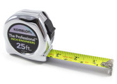 "Komelon ""The Professional"" 25-Foot Inch/Engineers Tape Measure (25' x 1"")"