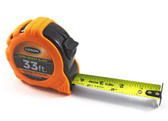 "Keson 33-Foot Engineers' Tape Measure w/ Ultra Bright Blade (33' x 1"")"