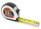 "Keson 33' x 1"" Engineer's Tape Measure - Feet, Inches & 10ths"