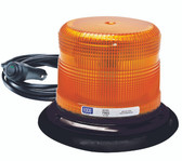 Ecco Pulse II LED Amber Beacon Light w/ Vacuum-Magnet Mount