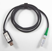 Leica GEV234 1.65m CS/GS/PC Data Transfer Cable - LEMO to Standard USB Type A