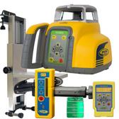 Spectra Precision HV302G Interior Green Beam Laser Kit w/ HR150U Receiver