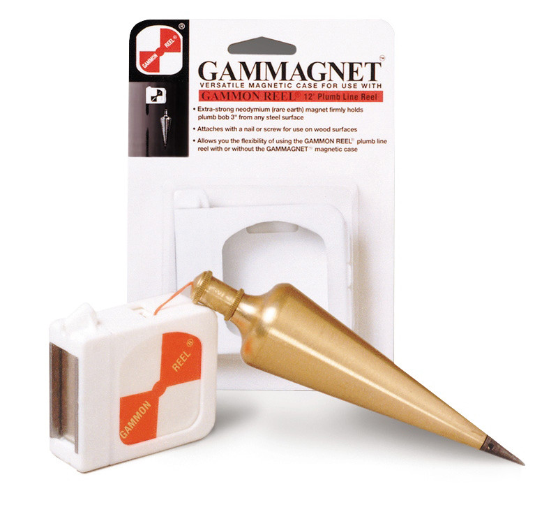 Gammagnet Versatile Magnetic Case For Use With Gammon Reel Plumb