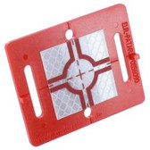 Rothbucher Systems RS60 Retro Reflective Survey Target w/ 40x40mm Target Reflector