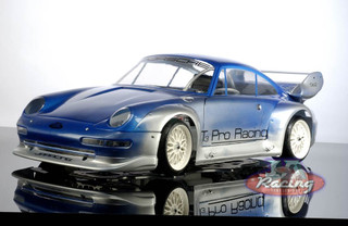Porsche Gt2 body shell 465 mm wheelbase ( Free decals with this item )