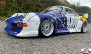 Porsche Gt2 body shell 465 mm wheelbase. A beautiful J&A Racing Porsche Gt2 Shell.