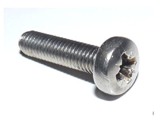 4mm Machine Screws/Bolts M4 x 10mm A2 Stainless Steel Pozi Pan Head Mch Screw (10 Pack) Free UK Delivery