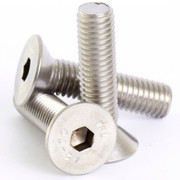 M6mm A2 Stainless Steel Countersunk Csk Hex Head Socket Screw Allen Bolts M6 X 25 - 20