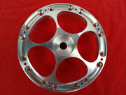 Jmex 4 piece Porsche Opal — Veloce 3.6 spoke wheels centers interchangeable with the 4 piece split rims.