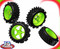 J&A Racing Pro 1/5th Scale off road wheels & Tyres set of 4