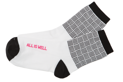 All is Well Women's Anklet Socks