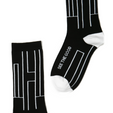 Luxury modern mantra socks by Posie Turner