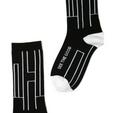 Luxury modern mantra socks by Posie Turner