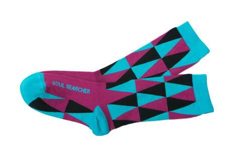 Soul Searcher inspirational socks by Posie Turner.