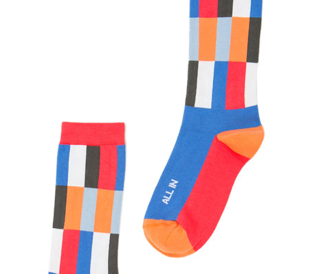 All In modern socks with good words by Posie Turner