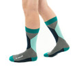 Be Awesome mens modern socks by Posie Tu