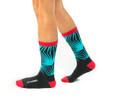 No Worries luxury womens gift socks with words by Posie Turner