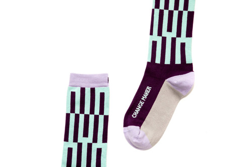 Change Maker inspirational gift socks by Posie Turner