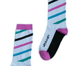 Life is a gift modern graphic socks by Posie Turner