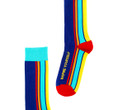 Luxury mens rainbow pride socks by Posie Turner