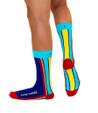 Inspire Yourself mens gay pride rainbow socks by Posie Turner